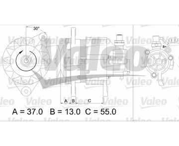 generátor VALEO 437146