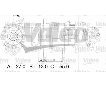 generátor VALEO 437147