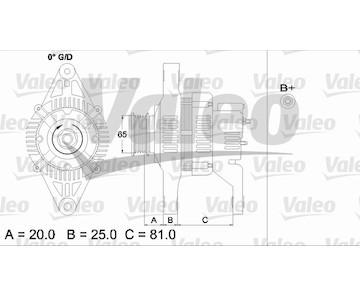 generátor VALEO 437151