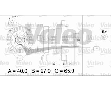 generátor VALEO 437168