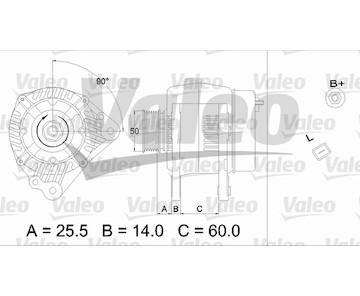 generátor VALEO 437170