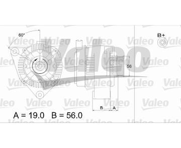 generátor VALEO 437186
