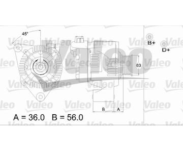 generátor VALEO 437187