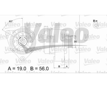 generátor VALEO 437190