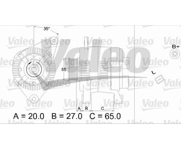 generátor VALEO 437196