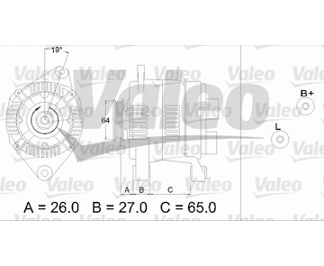generátor VALEO 437206
