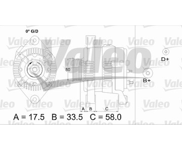 generátor VALEO 437212