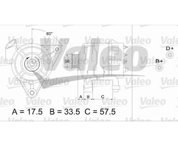 generátor VALEO 437215