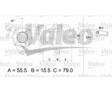 generátor VALEO 437218