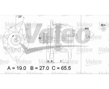 generátor VALEO 437220