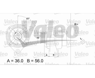 generátor VALEO 437225