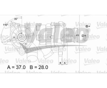 generátor VALEO 437331