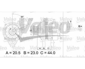 generátor VALEO 437334