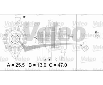 generátor VALEO 437337
