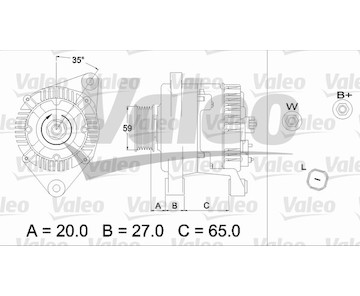 generátor VALEO 437347