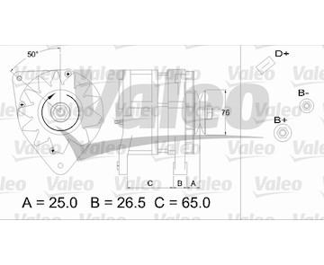 generátor VALEO 437371