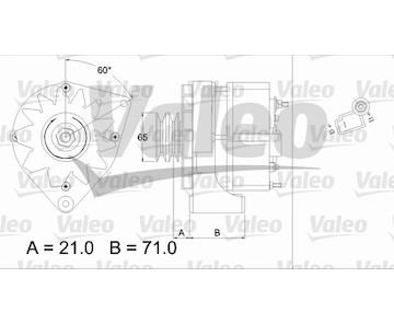 generátor VALEO 437372
