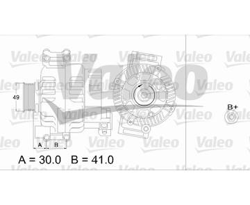 generátor VALEO 437374