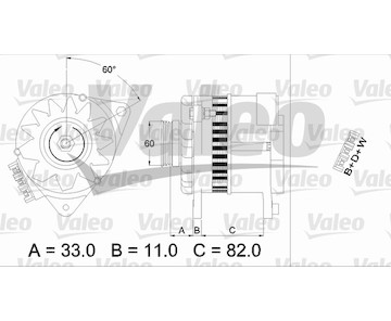 generátor VALEO 437378