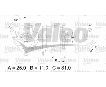 generátor VALEO 437379