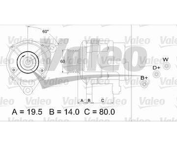 generátor VALEO 437383
