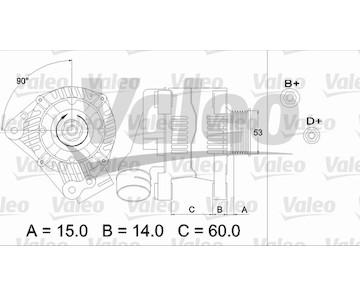 generátor VALEO 437384