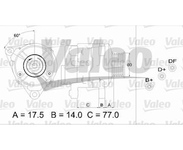generátor VALEO 437388