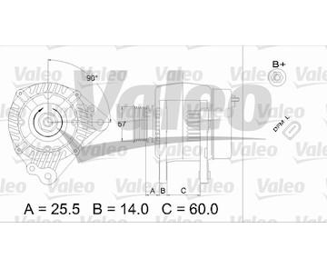 generátor VALEO 437396