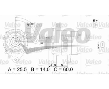 generátor VALEO 437402