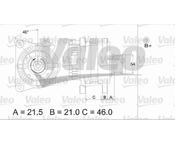 generátor VALEO 437407
