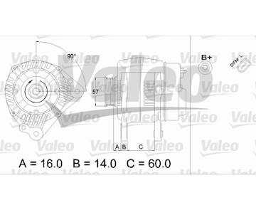 generátor VALEO 437411