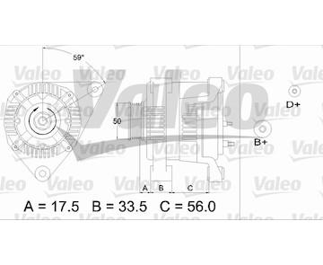 generátor VALEO 437413