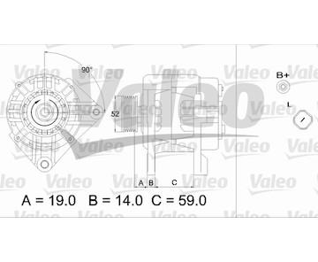 generátor VALEO 437424