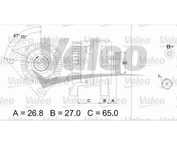 generátor VALEO 437428
