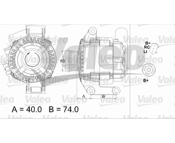 generátor VALEO 437448