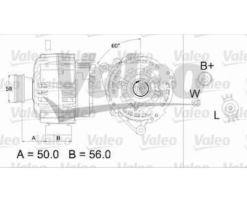 generátor VALEO 437467