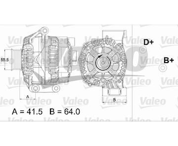 generátor VALEO 437475