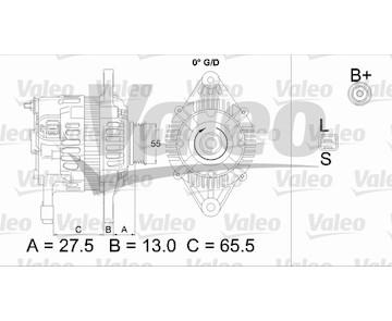 generátor VALEO 437478