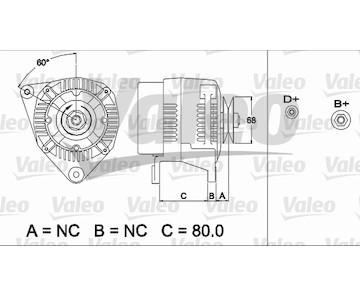 generátor VALEO 437484