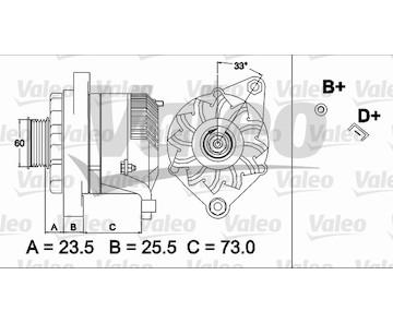 generátor VALEO 437487