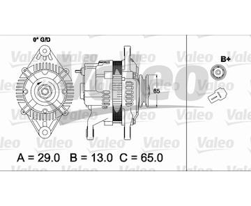 generátor VALEO 437490