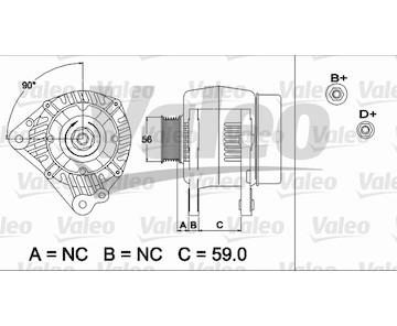 generátor VALEO 437492