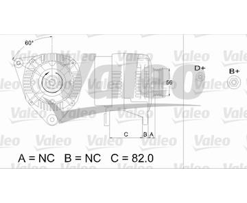generátor VALEO 437493