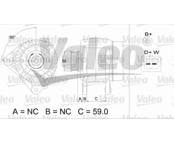 generátor VALEO 437494