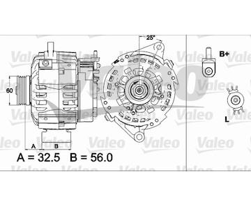 generátor VALEO 437509