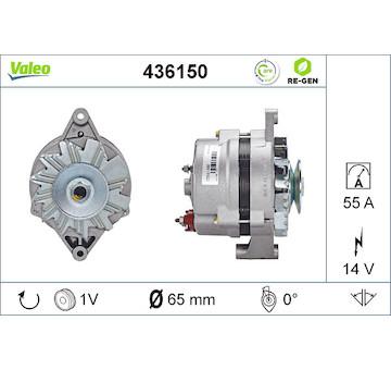 generátor VALEO 436150
