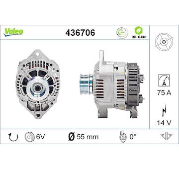 generátor VALEO 436706