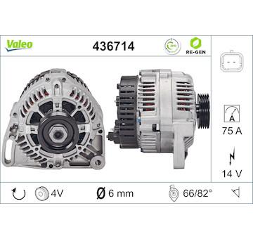 generátor VALEO 436714