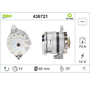 generátor VALEO 436721