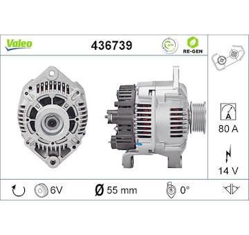 generátor VALEO 436739